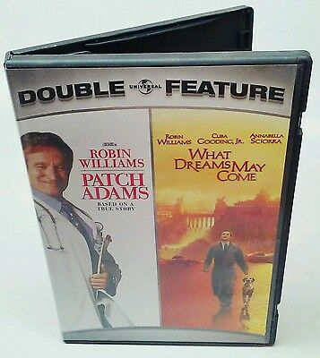 Used Patch Adams/ What Dreams May Come Double Feature DVD, 8344-2