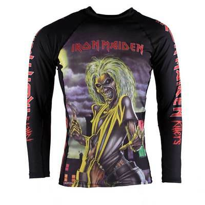 Tatami x Iron Maiden Killers BJJ Rash Guard Long Sleeve Brazilian Jiu Jitsu MMA