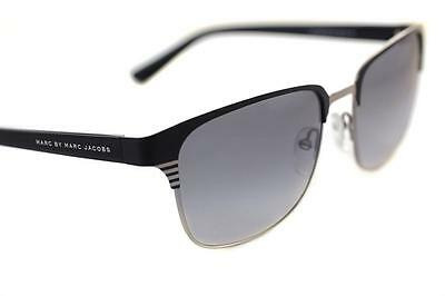 MARC BY MARC JACOBS 389 BGL Mens Ladies CLUBMASTER Sunglasses BLACK SILVER GREY