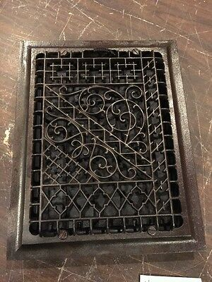 Ca 27 Antique Very Decorative Floor Or Wall Heating Grate