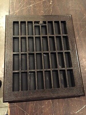 Ca 29 Antique Cast-Iron Heating Grate For Floor Working Vents