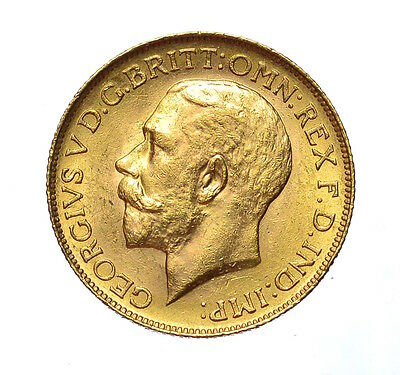1911 C  Sovereign Canada   George V  ®-972