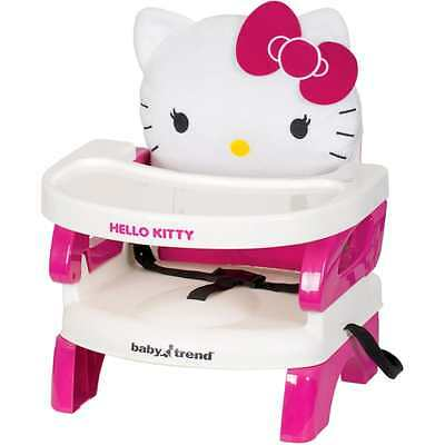 Booster Seat Dining For Eating High Chair Toddlers Tray Girls Table Hello Kitty