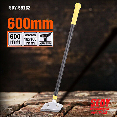 "NEW 100mm WIDE SCRAPER 24"" 600mm LONG FLOOR WALL SCRAPER CLEANING REMOVING TOOL"