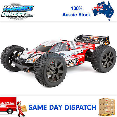 Brand New HPI 1/8 Trophy Truggy Flux Electric Brushless RC Truggy #107018