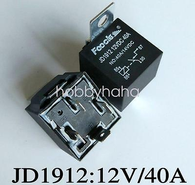 1pc 4 post car relay in box Type JD1912 12V 40A new