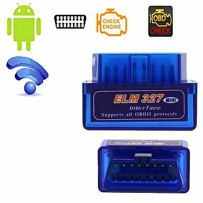 ELM327 Wireless Bluetooth V2.1 ODB2 ODB-II Androd Car Diagnostic Scan Scanner DP