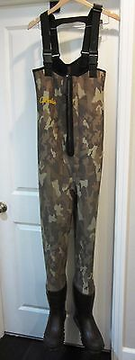 Cabelas~Mens Camo Camouflage Neoprene Hunting Fishing Waders Boots~10