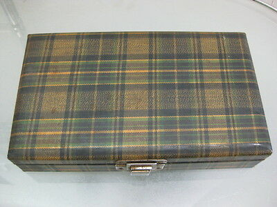 ban VINTAGE STRAIGHT RAZOR STORAGE BOX ~Made in Japan~ Rare!!