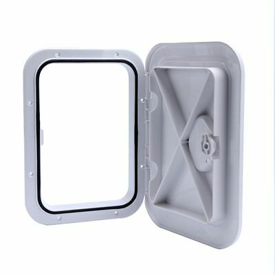 GOOD USE!!! 270 x 375mm Marine Boat Deck Access Hatch -White