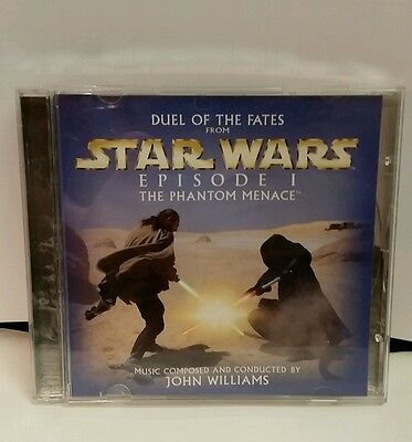 Star Wars Episode 1: Duel of the Fates by John Williams Promo Single (CD, 1999)