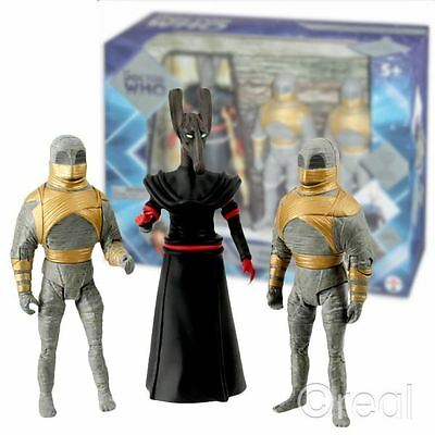 New Classic Doctor Who Pyramids Of Mars Collector's Set Action Figures Official