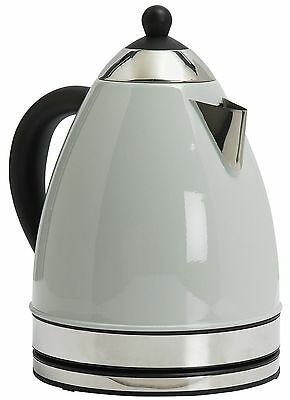 ColourMatch Stainless Steel 3KW 1.7L Jug Kettle - Dove Grey