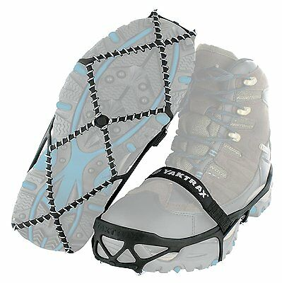 Yaktrax Pro Traction Cleats for Snow and Ice, Black, X-Large