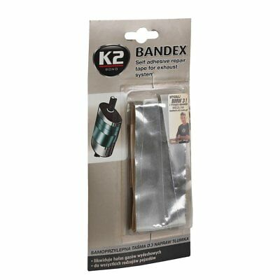 K2 Bond Bandex Self Adhesive Exhaust Muffler Repair Bandage Heat Resistant Tape