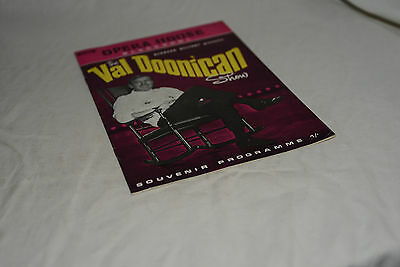 Lovely Vintage Blackpool Opera House Theatre Programme: VAL DOONICAN SHOW 1969