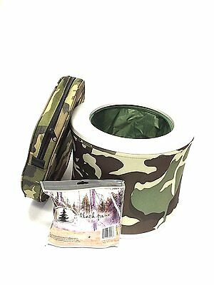 Black Pine Sports Turbo Toilet, Camouflage