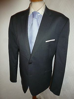 Mens Ted Baker Elevated Grey Wool Autumn Fall Suit Jacket 44 R Waist 36 Leg 29.5