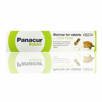 Panacur Wormer for Rabbits 18.75% Oral Paste 5g for control of intestinal worms