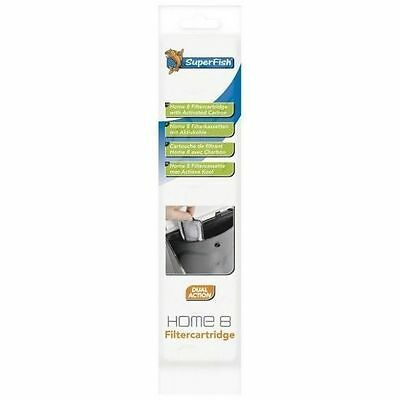 Superfish Home 8 Cartidge Aquarium Replacement Filter Cartridge