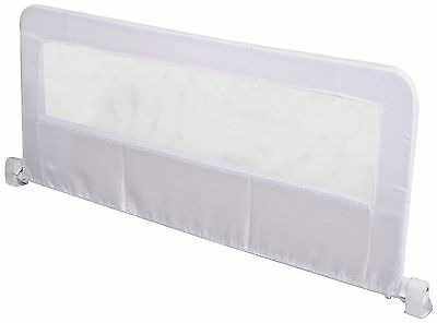 Regalo Swing Down Long Bedrail White Bed Rail Hide Away Toddler Safety New