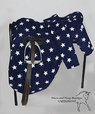 Ride on saddle cover with matching girth cover. LOTS OF COLOURS