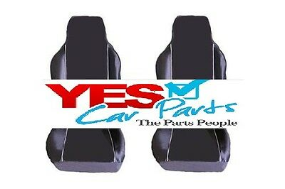 Mercedes-Benz Cla-Class Amg 13-On Premium Fabric Seat Covers White Piping 1+1