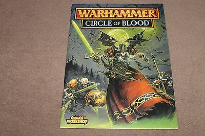 CIRCLE OF BLOOD Warhammer Fantasy Battle scenario / campaign booklet