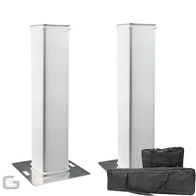 2x Equinox 1.5m Plinth Truss Podium Presentation Stands Kit Package With Bags