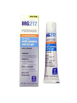 MG217  Psoriasis Non-Drying Multi-Symptom Coal Tar Gel 1.5oz Tube