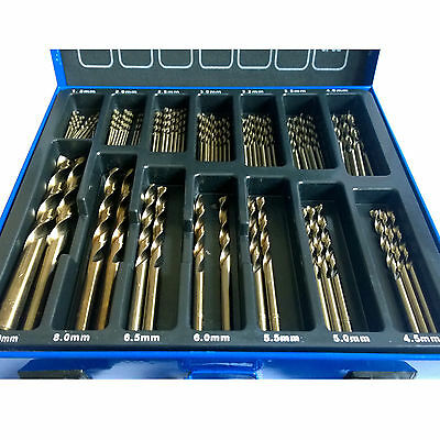 Cobalt Drill Bit Set for Stainless Steel Inox 5% M35 Metal HSS-Co 99 Cobalt Bits