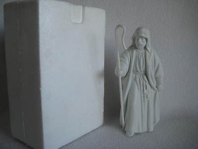 Avon Nativity Collectibles THE SHEPHERD White Porcelain Bisque Figurine