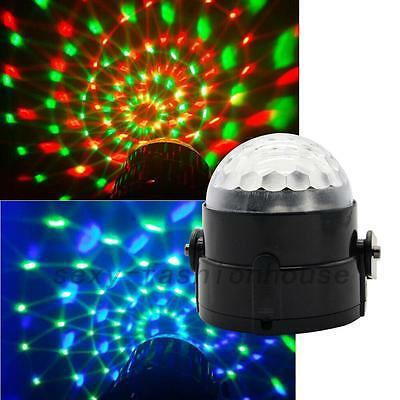 Mini 3W LED RGB DJ Club Disco Party Magic Ball Effect Light Stage Lighting