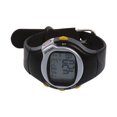 07S8 New Sport Pulse Heart Rate Monitor Calories Counter Fitness Wrist Watch Bl