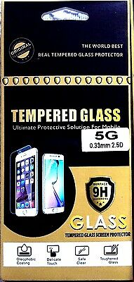 JOB LOT 30 X iPhone 5 100% Genuine Grade 9H Tempered Glass Screen Protectors