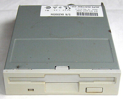 Alps Electric FDD DF354H138F Floppy Disk Drive 1,44MB Diskettenlaufwerk 3,5""