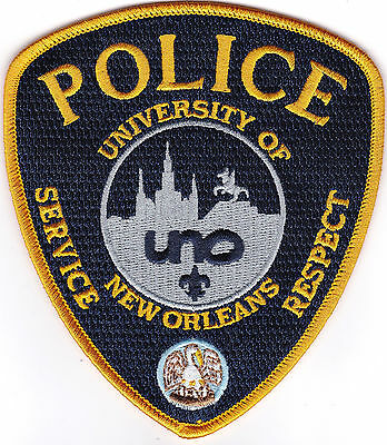 University of New Orleans Police Louisiana patch NEW