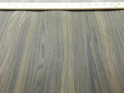 "Fumed Oak composite wood veneer 24"" x 60"" on paper backer 1/40th"" thickness"