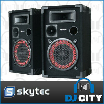 "10"" Passive Speaker pair 700 watts peak power, great for home parties, karaoke"