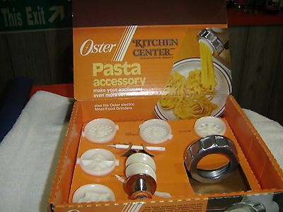 Oster Kitchen Center Pasta Accessory Attachment 939-65 Spaghetti Rigatone Noodle