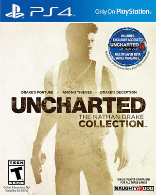 Uncharted The Nathan Drake Collection PS4   PlayStation 4 - Brand New