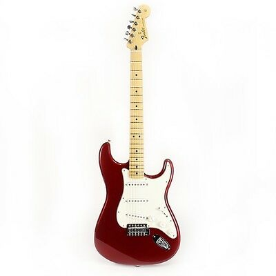 Fender Standard Stratocaster in Candy Apple Red Demo