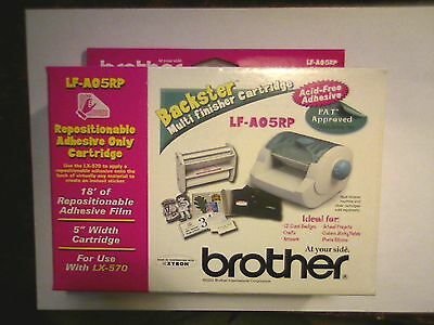 BROTHER LF-A05RP Repositionable Adhesive Only Cartridge For LX-570 NEW IN BOX