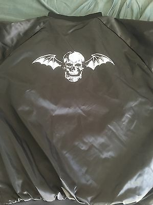 Avenged Sevenfold XL Bomber Jacket Nyc Pop Up Exclusive