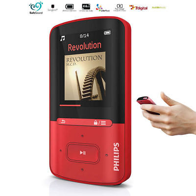 Philips GoGear 8GB MP3 MP4 Player/Portable Rechargeable Audio/Video Media Player