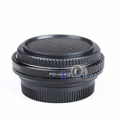Optical Focal Reducer For Canon FD Mount Lens to Micro 4/3 M4/3 Camera Body【US】