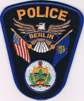 Berlin Police Patch New Hampshire NH NEW!!