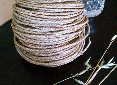 5m x 4mm Natural Twisted Seagrass Cord Rope - DIY Pet Rabbit Bird Toy Part Craft