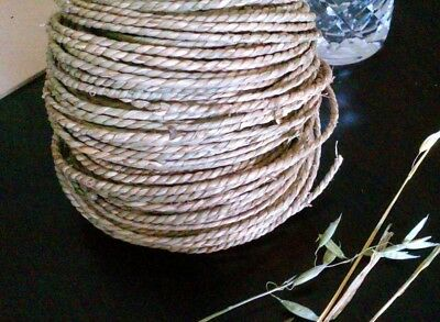 5m x 4mm Natural Twisted Seagrass Cord Rope - Pet Rabbit / Guinea Pig Toy Part