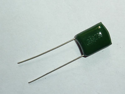 New 100pcs Polyester poly Film Capacitors Assortment Kit 0.1nF~100nF 2A104J TO